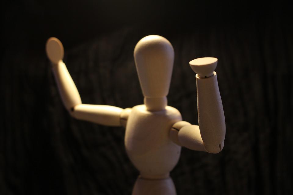 El maniquí, un elemento clave para dar movimiento